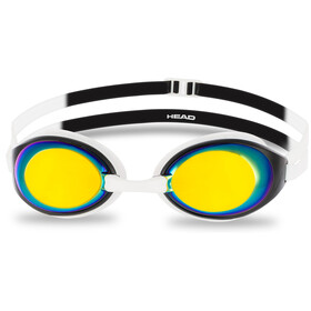 Head HCB Comp Mirrored Goggles, white-black-smoke